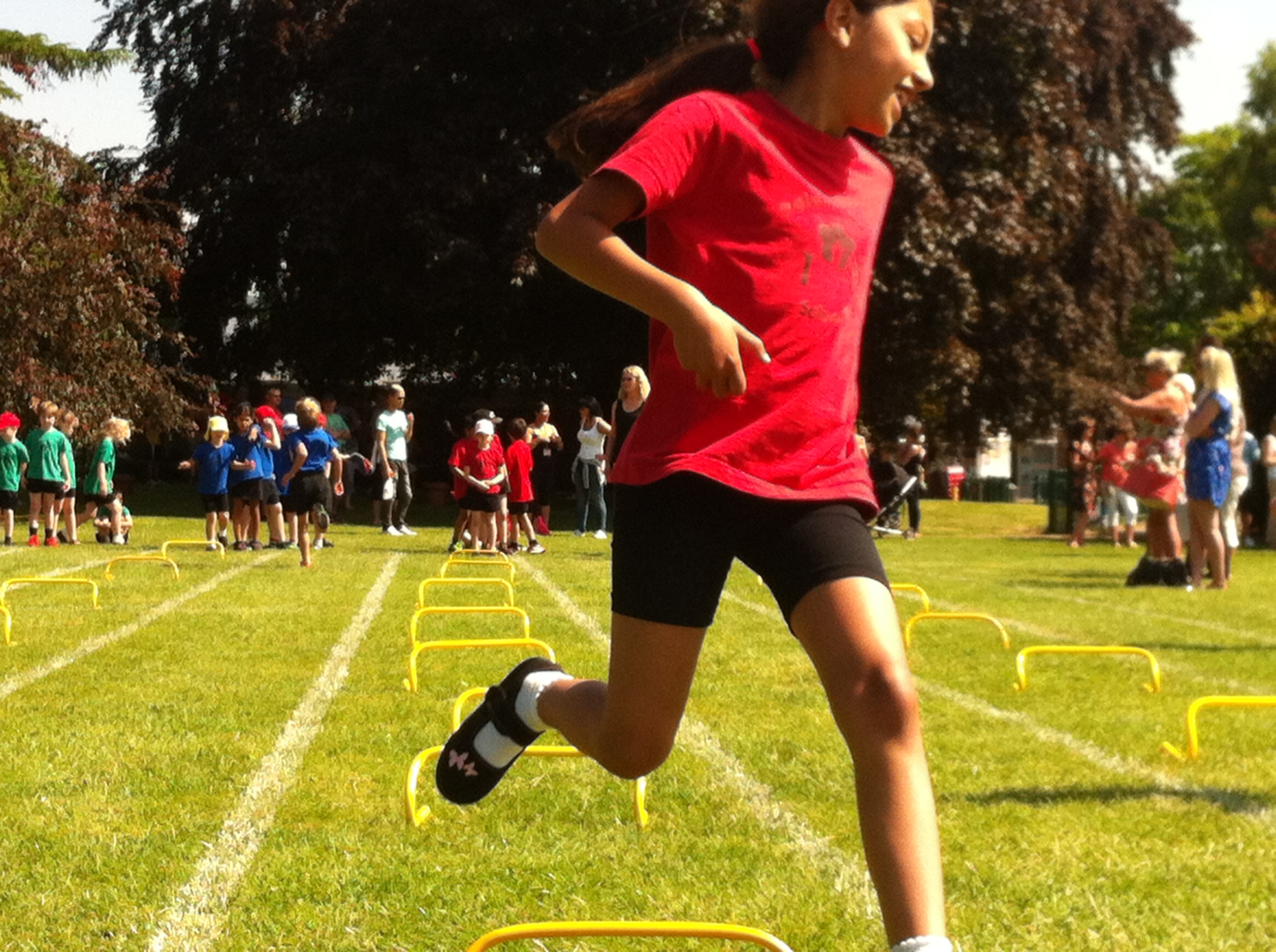 Alizee at Sports Day
