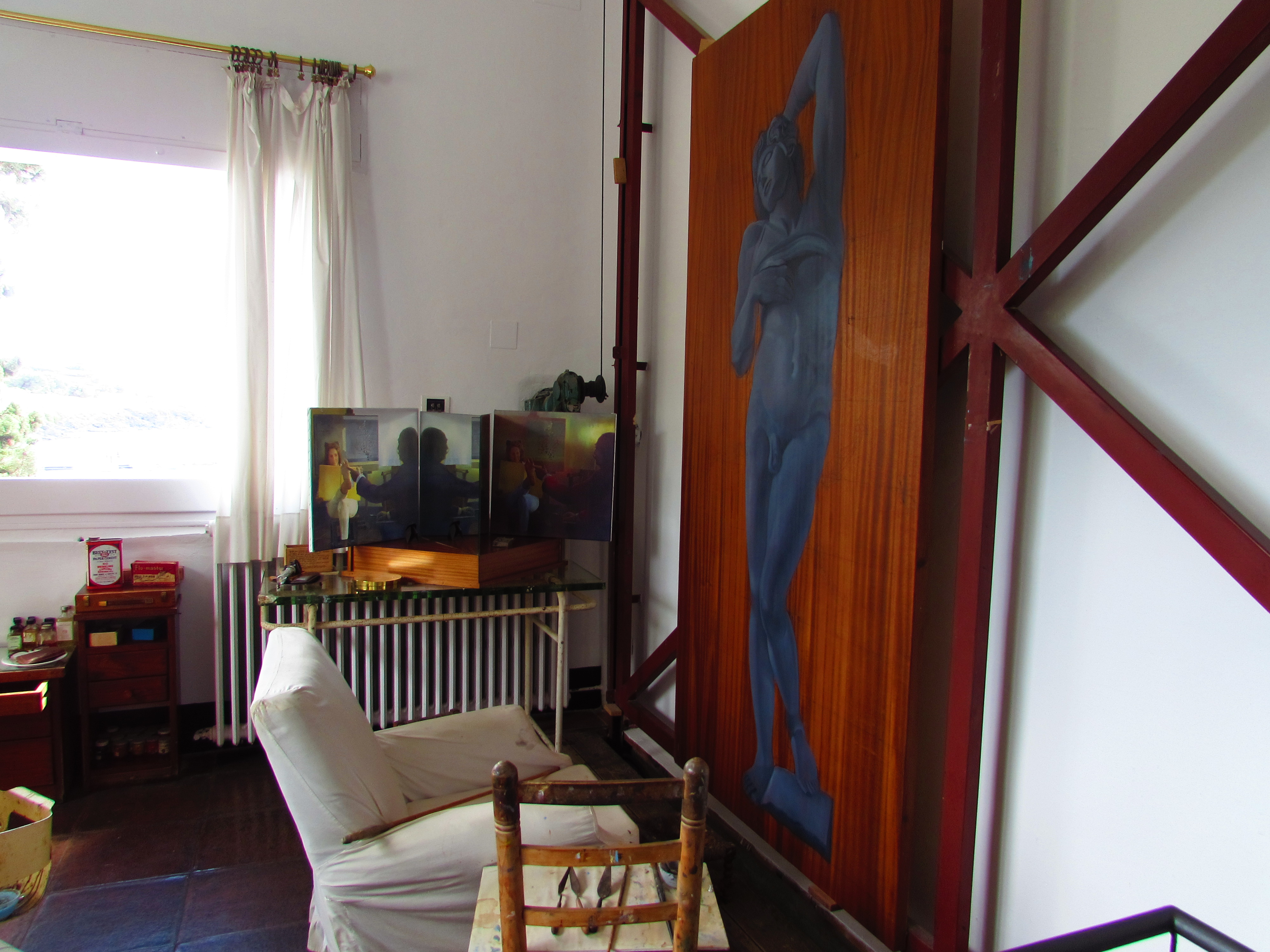 Another original from Dali's art studio - the most important room in his house