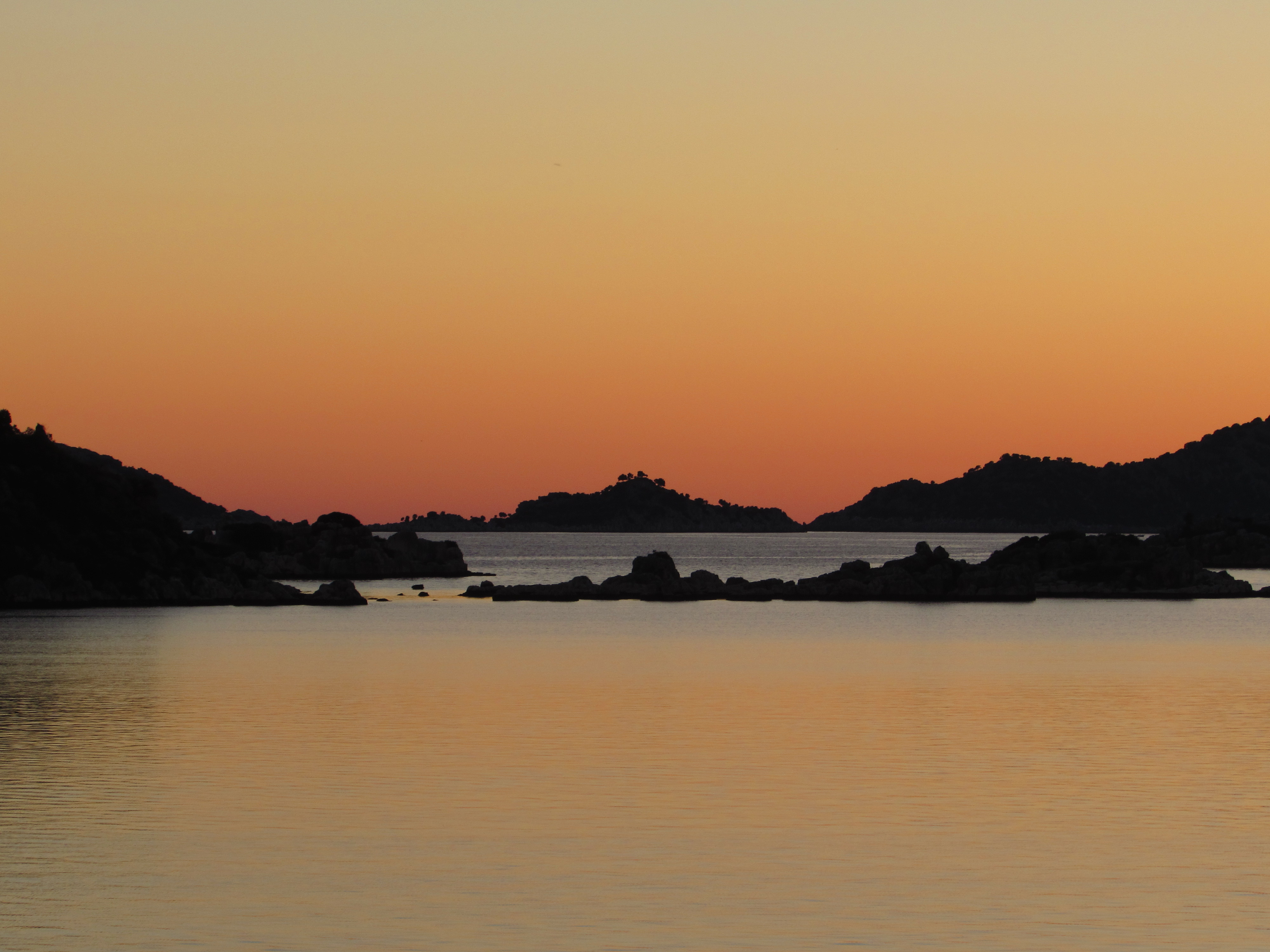 Kekova, at the end of Christmas Day